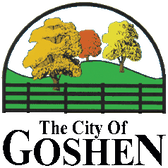 The City of Goshen logo